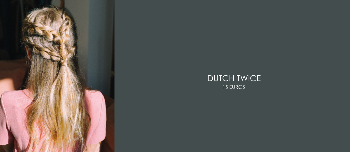 coiffure dutch twice