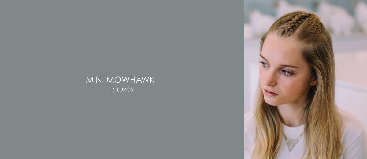 coiffure mini mowhawk