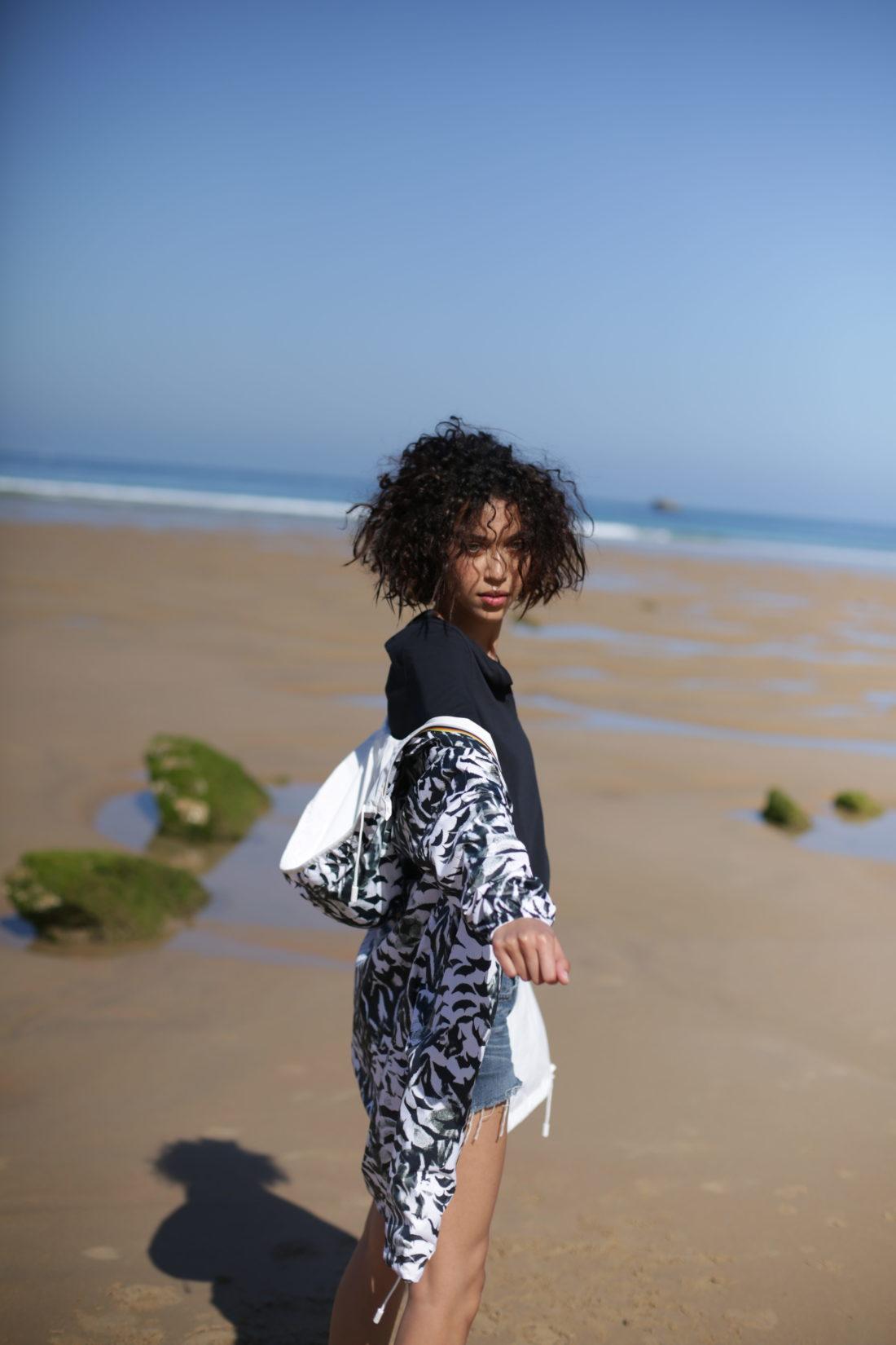 coiffure studio cheveux boucles effet beachhair plage biarritz