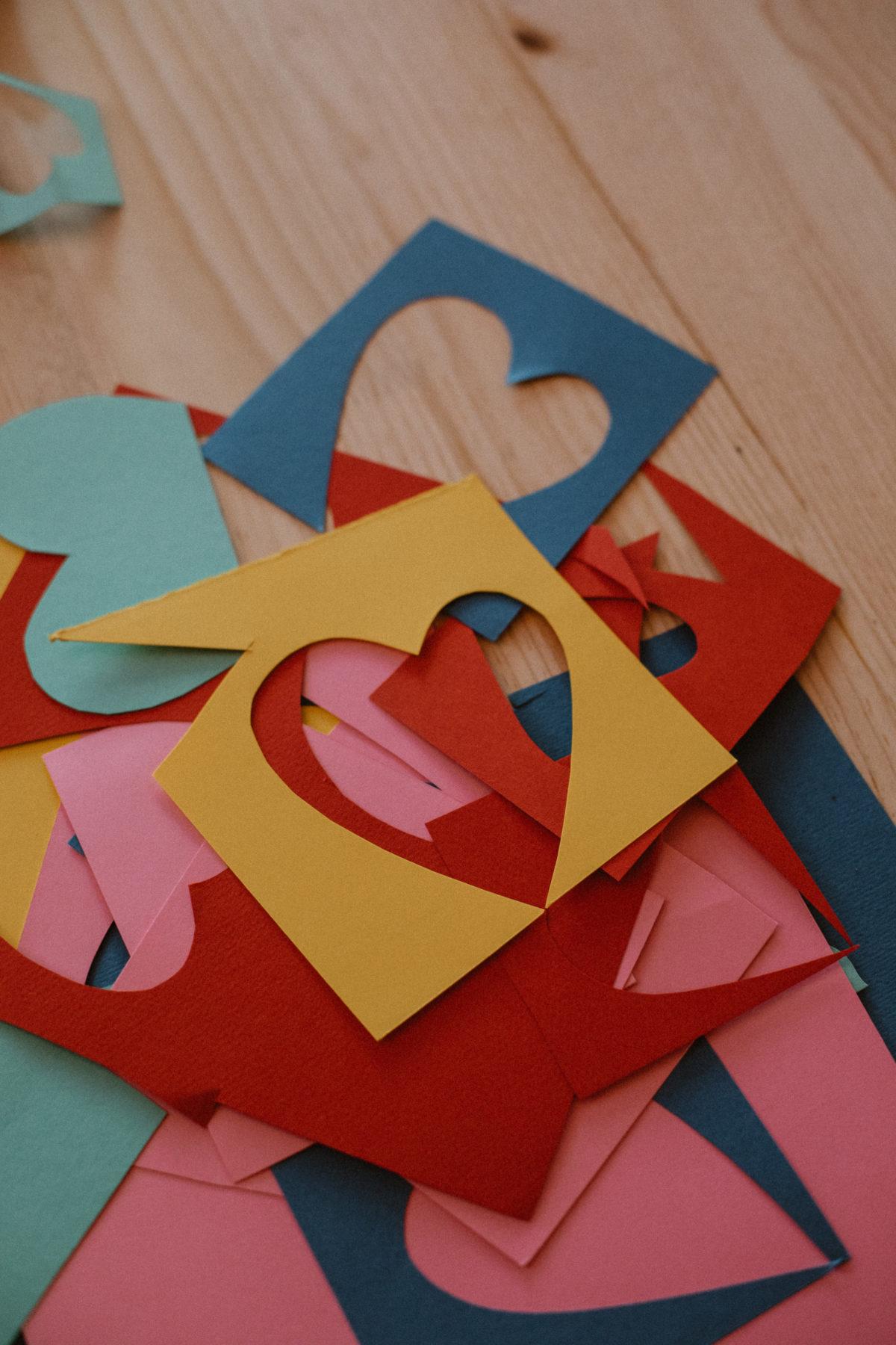 coeur en papier luckylefthand mariage