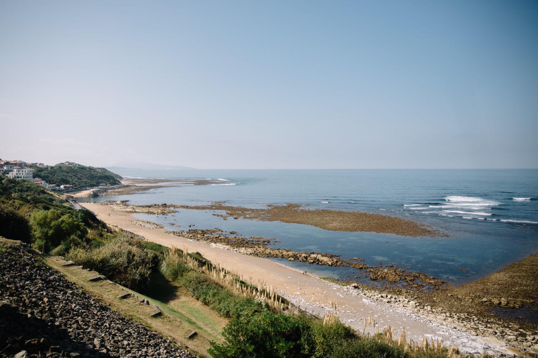 mariage a la plage à guéthary au pays basque