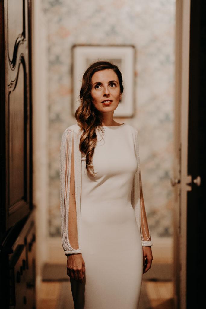 hairstyle pour mariée moderne glam par eglantine reigniez