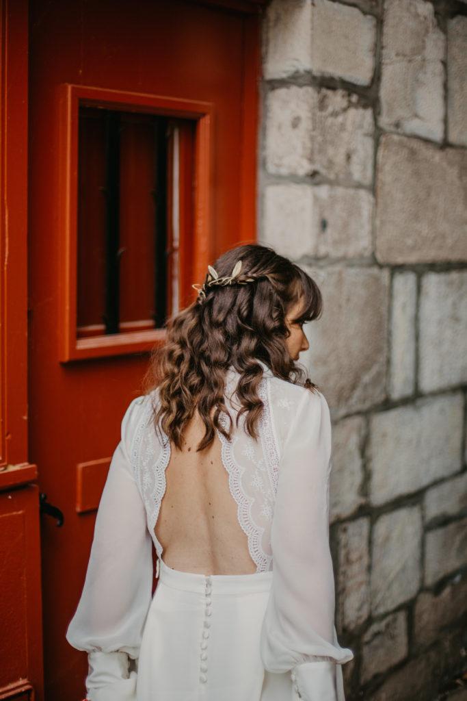 hairstyle mariage folk et champêtre eglantine par reigniez